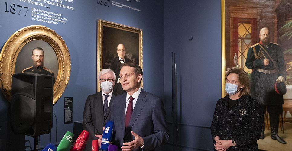 В ГИМ открылась выставка, приуроченная к 175-летию со дня рождения Александра III