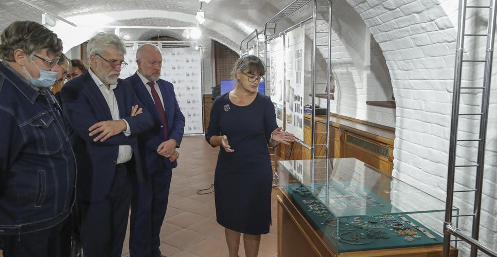 В пространстве археологии: клады древних славян. Новая выставка в Доме РИО