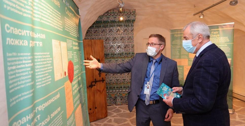 Архивисты Пскова и Выборга создали совместную выставку об истории торговли