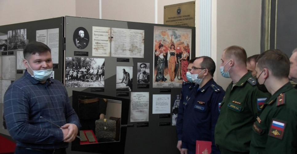 Выставка о военспецах открылась в Санкт-Петербурге