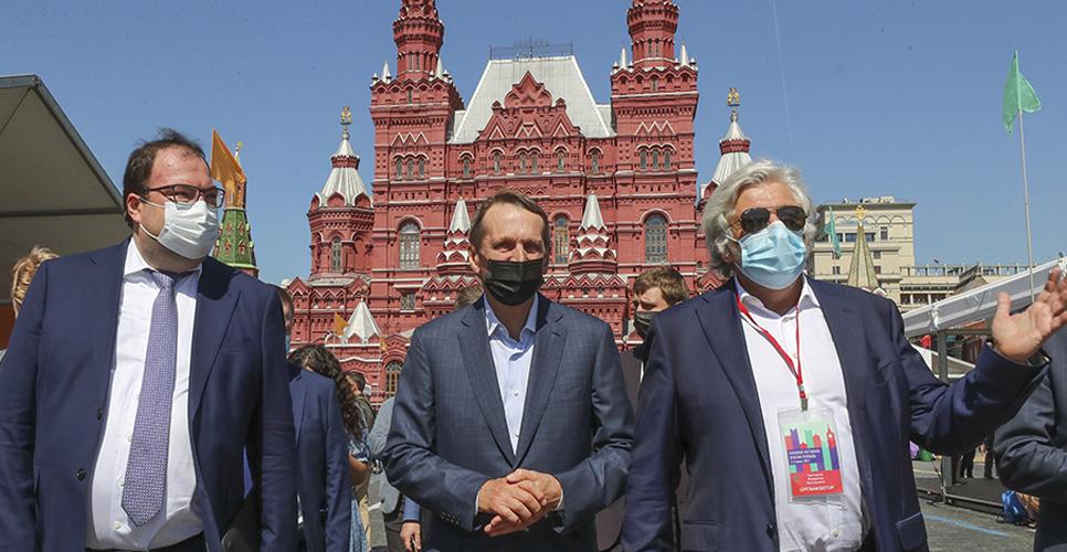 Сергей Нарышкин посетил VII книжный фестиваль «Красная площадь»