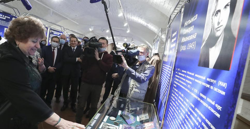 Выставка «Разведчицы на службе Отечеству» открылась в Доме РИО