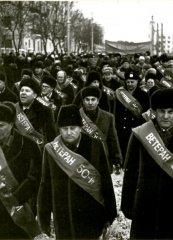 Шествие ветеранов 50-й армии. 30.12.1981 г.