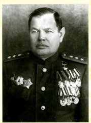 Генерал-майор В.С. Попов
