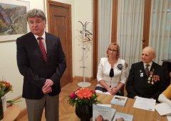 Посол РФ в Эстонии А. М. Петров на презентации книги в Таллине