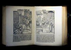 Martin Luther — Passional Christi und Antichristi. [Wittenberg: J. Rhau-Grunenberg, 1521] Мартин Лютер. Деяния Христа и Антихриста. Виттенберг, 1521