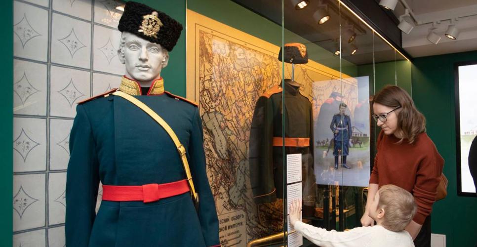 Открытие выставки русских мундиров в Музее военной формы